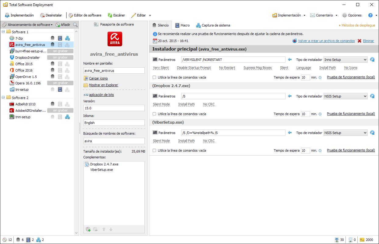 Silent - Total Software Deployment